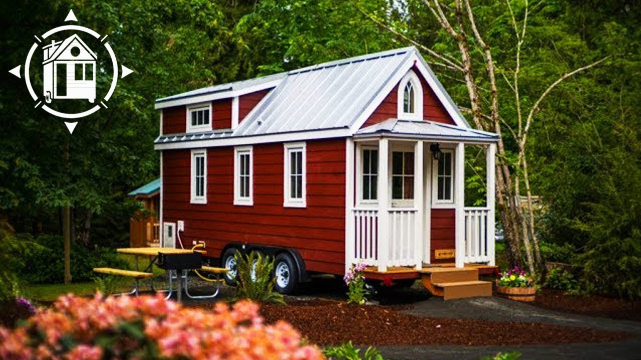 Spacious Tiny House With Three Bedrooms In Oregon Youtube