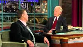 David Letterman - John Goodman's Weight Loss
