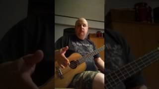 Caramel baritone ukulele