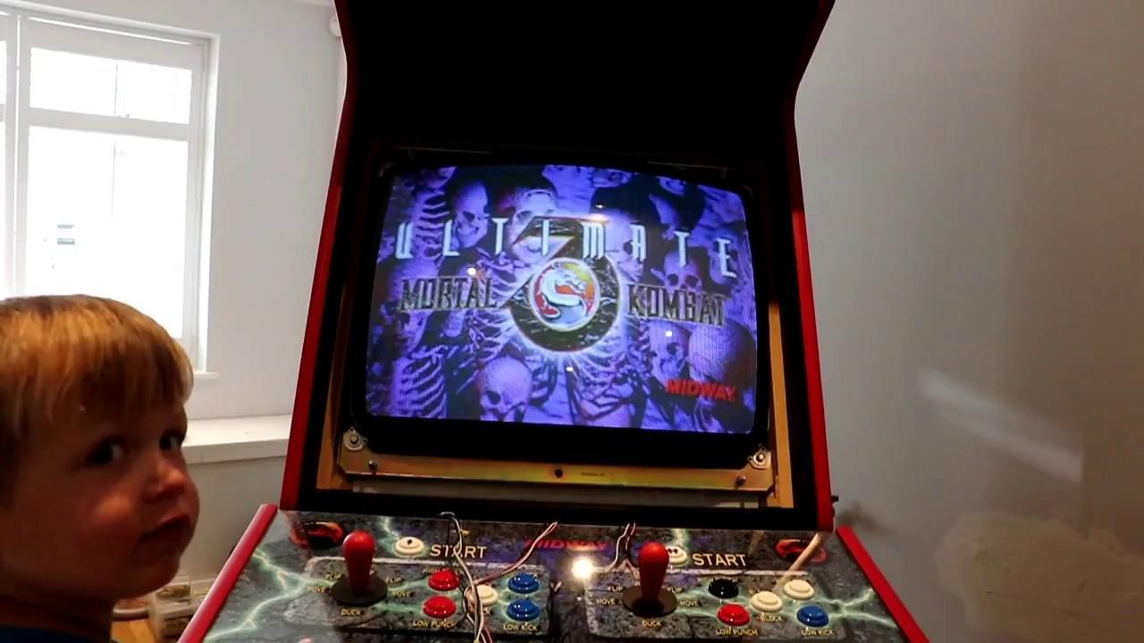 Building Mortal Kombat 2 Arcade Machine Jamma - YouTube