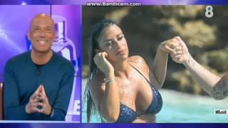 Cesc Fàbregas y Daniella Semaan se comen a besos en el Caribe