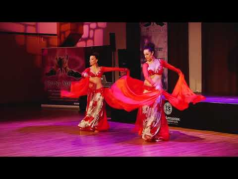 """Duo Almas Belly Dance, Orient Addicts Festival 2018, """"Law Hobna Ghalta"""""""