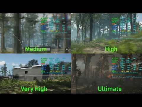 Ghost Recon: Breakpoint Open Beta - Graphic Preset Test 1440p - GTX 1070 TI + i7-6700k |