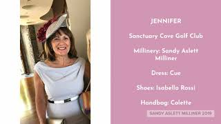 Sandy Aslett Milliner Fashions on the Field 2019