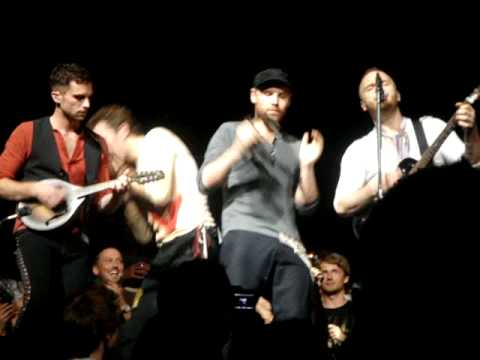 Coldplay Will Champion sings Death Will Never Conquer Live