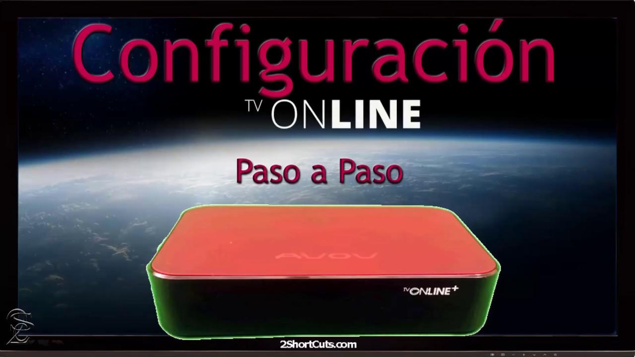 Configuración paso a paso AVOV TVOnline +