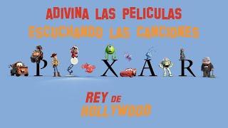 Adivina las películas de Disney Pixar escuchando las canciones
