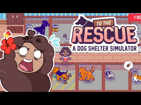Our Shelter Dog HAD PUPPIES?! 🐶 To The Rescue! Dog Shelter Simulator • #5  