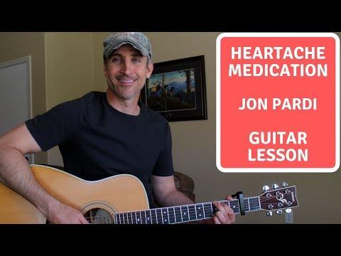 Heartache Medication - Jon Pardi -Guitar Lesson | Tutorial