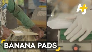 Could Pads Made From Bananas Change Lives In India?