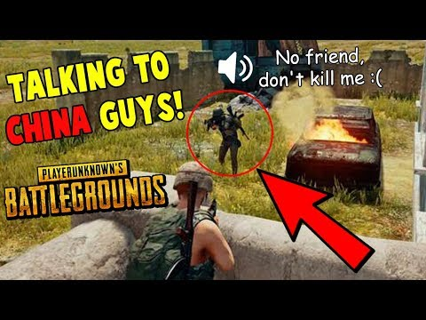 Friendly China Guys in PUBG- INDIAN Funny Voice Chat PUBG Moments