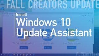 Windows 10 Fall Creators Update: 'Update Assistant' process