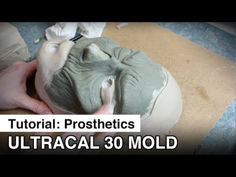 How to make an Ultracal 30 mold for prosthetics