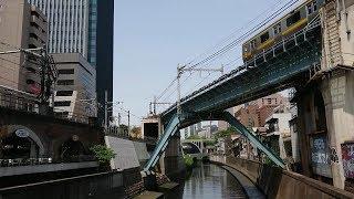 中央・総武線各駅停車、新宿・三鷹方面行き、E231系0番台10連。バイノーラル録音
