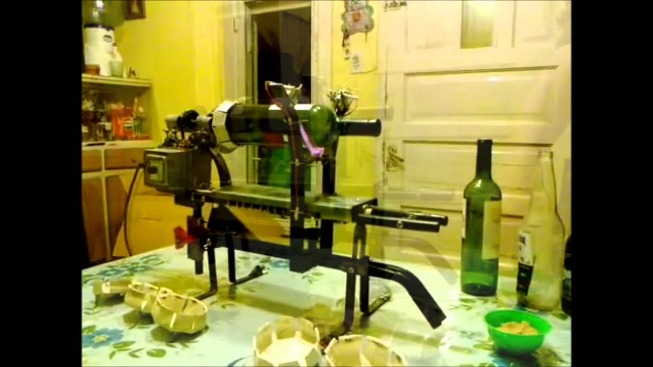 Maquina de cortar botellas automatica youtube for Maquina para cortar metacrilato