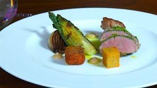 Michelin star chef Sam Moody creates lamb, heritage tomato and monkfish recipes