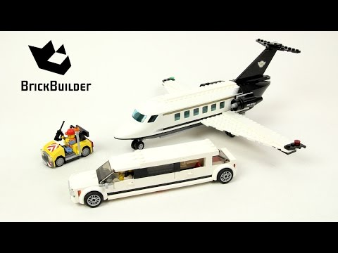 Lego City 60102 Airport VIP Service - Lego Speed Build