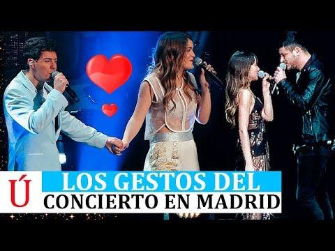 LOS GESTOS Y SHIPPEOS DEL CONCIERTO DE OPERACIÓN TRIUNFO 2017 MADRID - AMAIA, ALFRED AITANA Y CEPEDA