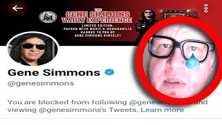 Baixar Dear Gene Simmons why did you block me on Twitter?