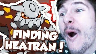 FINDING HEATRAN!! / Pokemon Fighters EX / Roblox