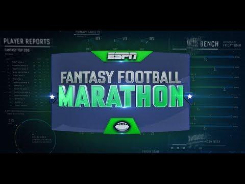 Fantasy Football Marathon Pre-Show With Adam Schefter & Matthew Berry   ESPN