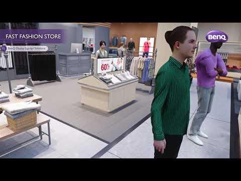 BenQ Digital Signage 3D Video