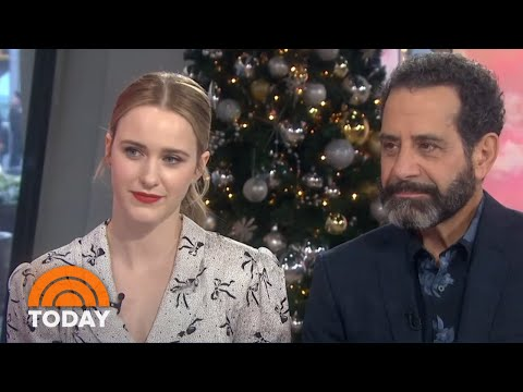 'Mrs. Maisel' Stars Rachel Brosnahan, Tony Shalhoub Talk Season 3 | TODAY
