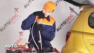 Como trocar amortecedores traseiros TOYOTA YARIS XP10 TUTORIAL | AUTODOC