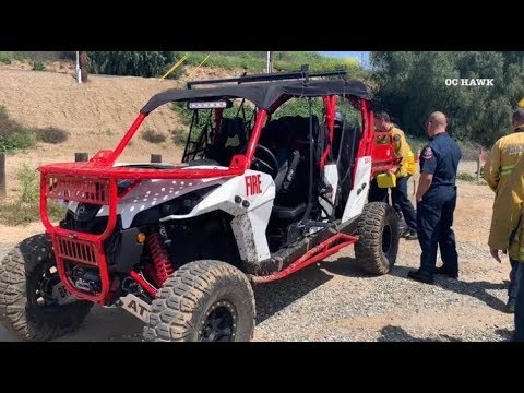 Brea Fire Department ATV Fire Apparatus