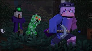 war with zombies   part 1  minecraft animation