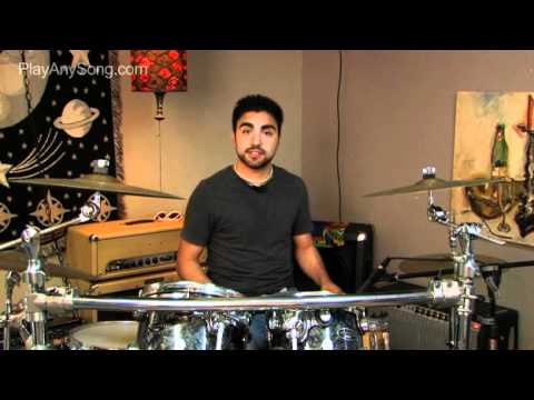 Dani California by Red Hot Chili Peppers on Drums - How to Play