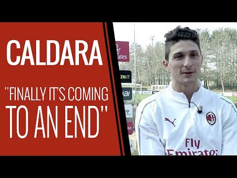 "Caldara: ""I miss playing but am close to returning"""