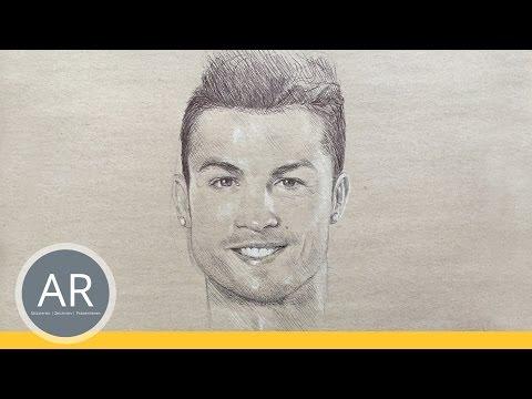 Fussball Stars Portrat Zeichnen Lernen Ideal Zu Uben