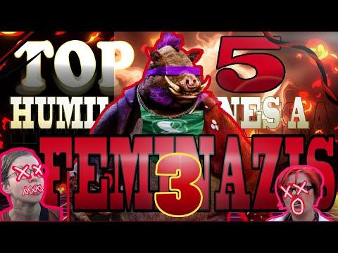 TOP 5 HUMILLACIONES MAS EPICAS A FEMINAZIS PARTE 3   | El Tío Blaze