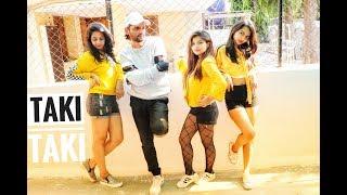 DJ Snake - Taki Taki ||ft. Selena Gomez, Cardi B, Ozuna || Dance Choreography by sanjay deshani