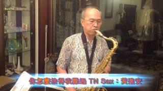 黃進安 TN Sax 演奏:你怎麼捨得我難過,詞曲:黃品源