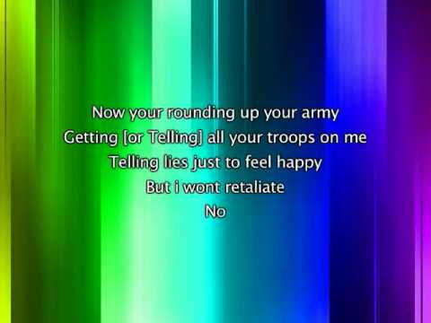 Jonas Brothers - World War III, Lyrics In Video