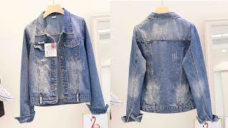 Women long sleeve Denim Jeans Jacket Casual Coats Review | Best Jackets For Women Fashion 2018