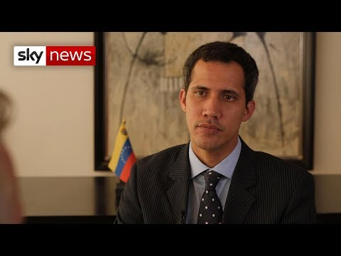 Exclusive interview with Juan Guaido, Venezuela's self declared President