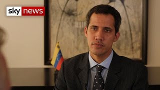 Exclusive interview with Juan Guaido, Venezuela's self declared President