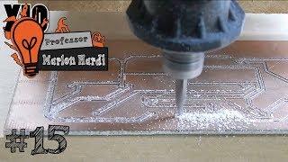 #15 - CNC 2.1 Usinando PCI/PCB Placa de circuito impresso!!!