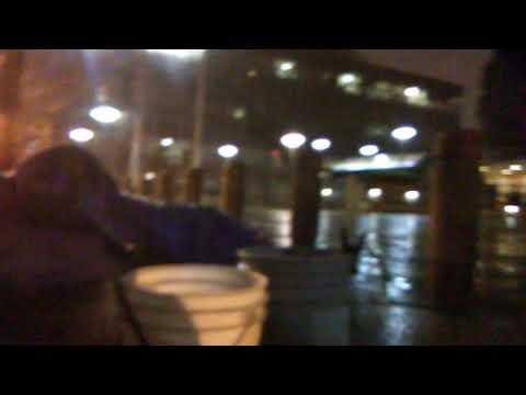 Snow in Eugene Oregon, Homeless Protest