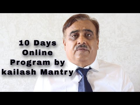 Life: Be A 10 Days Online Mental Health Program by Kailash Mantry