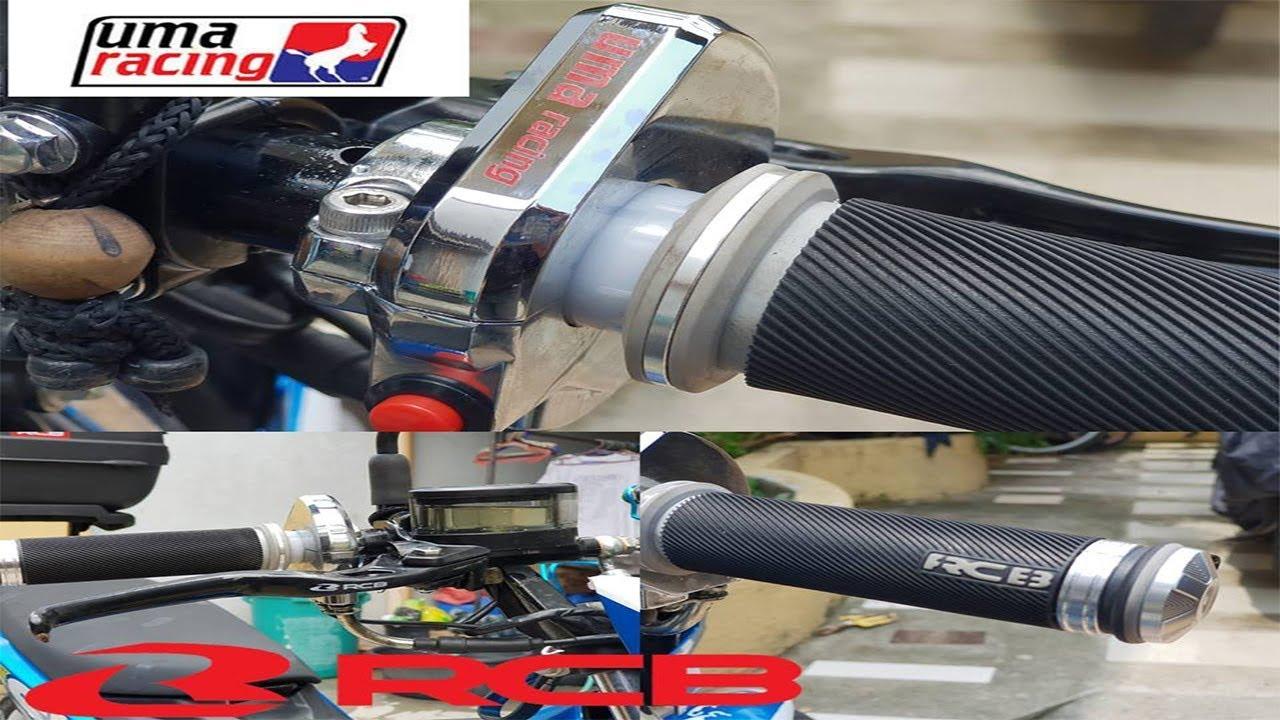 RCB Parts and UMA Quick Throttle Installation and Impression | Suzuki  Raider R150 Fi