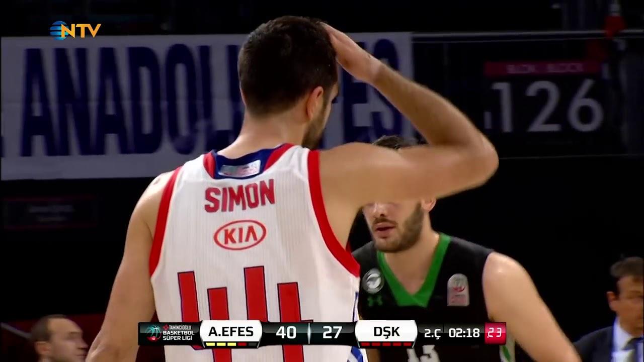 Playoff Çeyrek Final 1. Maç: Anadolu Efes - Darüşşafaka Basketbol