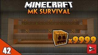 Máy Farm Bí Ngô Phiên Bản 1.11 Trong Nhà Đá Đỏ Hiện Đại - Minecraft MK Survival [42] | MK Gaming