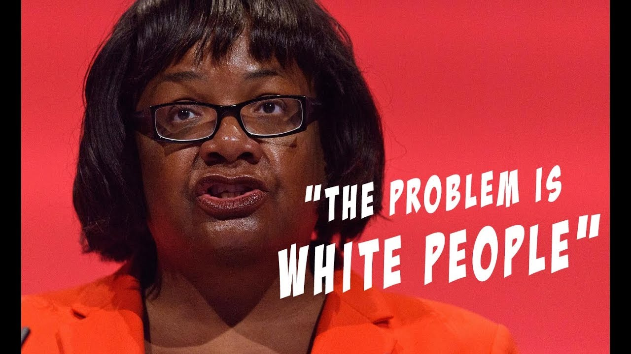 Diane Abbott Is A Racist Idiot Heres The Proof