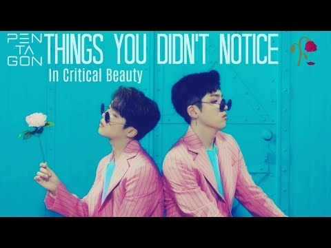 Thumbnail: PENTAGON ~ Things You Didn't Notice In Critical Beauty / Fangirl Ver