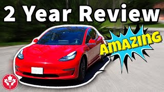 Tesla Model 3 Long Term Review after 2 Years: AMAZING