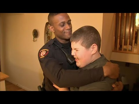 Steve - Officer Helps Young Boy Who Called 911 For Lost Teddy Bear